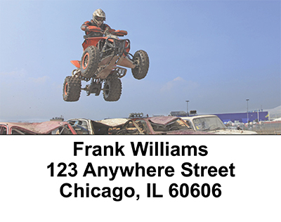 ATV Racing Address Labels