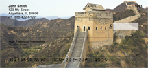 Great Wall of China Personal Checks