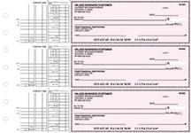 Pink Safety Multi Purpose Business Checks