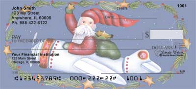 Santa's on the Way Checks - Lorrie Weber Checks