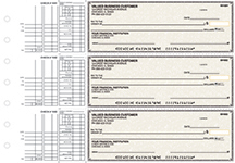 Tan Parchment Multi Purpose Business Checks $ 22.99