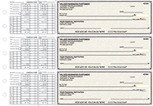 Tan Parchment Payroll Business Checks $ 22.99