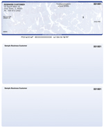 Blue Marble Laser Business One Per Page Voucher Checks - Top Style $ 11.99