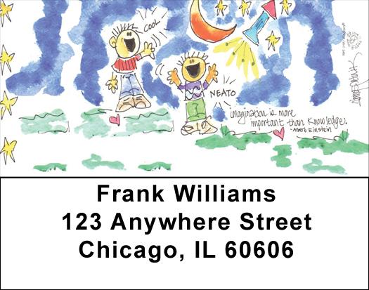 Simplicity Address Labels by Amy S. Petrik