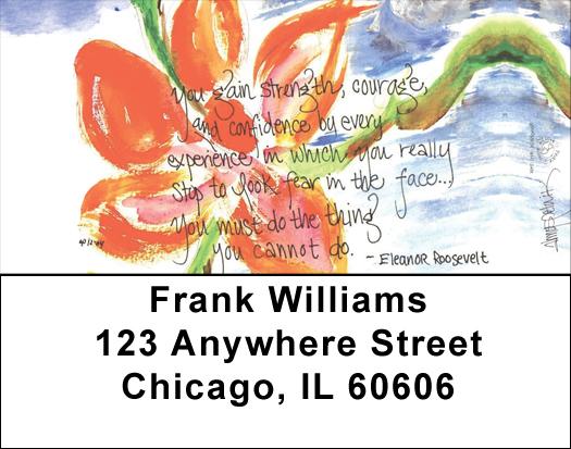 Love & Friendship Address Labels by Amy S. Petrik