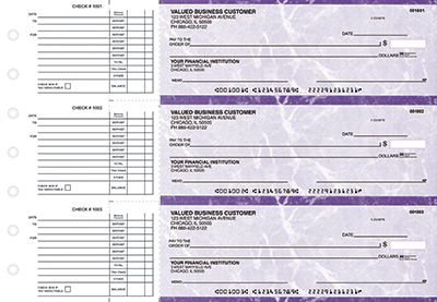 Purple Marble Accounts Payable Checks