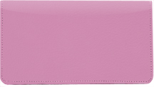 Pink Leather Checkbook Cover $ 11.99