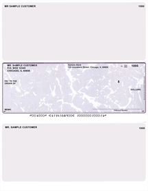 Plum Marble Laser Business One Per Page Voucher Checks - Middle Style $ 11.99