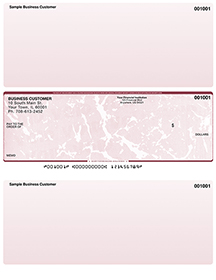Burgundy Marble Laser Business One Per Page Voucher Checks - Middle $ 11.99