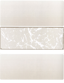 Gold Marble Blank Stock for Computer Voucher Checks Middle Style $ 11.99