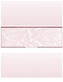 Burgundy Marble Blank Stock for Computer Voucher Checks Middle Style $ 11.99