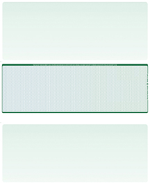 Blue Green Blank Stock for Computer Voucher Checks Middle Style $ 11.99