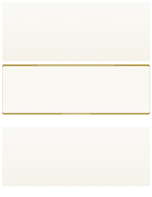 Tan Safety Blank Stock for Computer Voucher Checks Middle Style $ 11.99