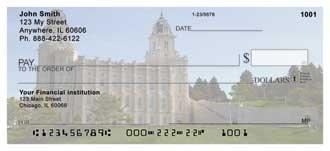 Manti Temple Personal Checks