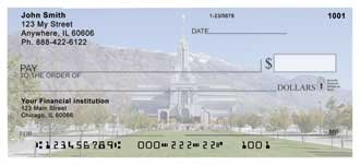 Mt. Timpanoga Temple Personal Checks