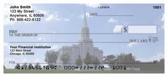 St. Louis Temple Personal Checks