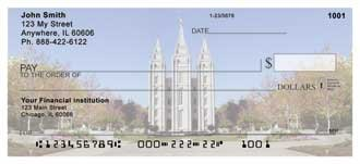 African Americans Salt Lake Temple Personal Checks