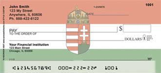 Hungarian Flag Personal Checks