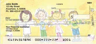 Alices Angels Personal Checks by Amy S Petrik