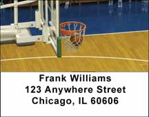 More Basketball Address Labels