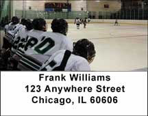 Hockey Address Labels $ 5.99