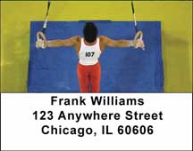 Gymnastic Address Labels
