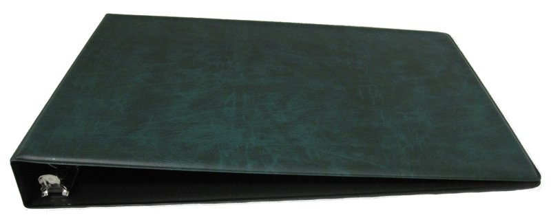 Green Business 7 Ring Check Binder