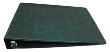 Green Deskset Checkbook Cover