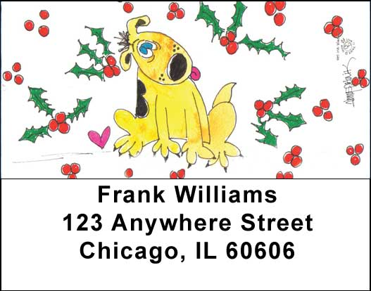 seasonal address labels