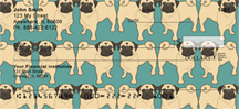 Pug Wallpaper Checks