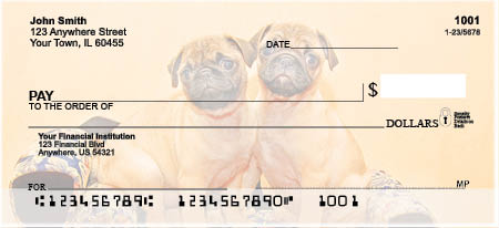 Pug Bank Checks
