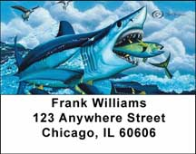 Fishermen's Address Labels by David Dunleavy
