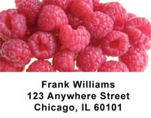 Fresh and Fruity Address Labels