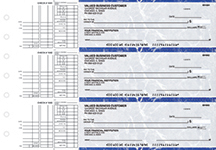Blue Marble Multi Purpose Business Checks
