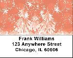 Stylistic Christmas Address Labels