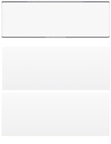 Grey Safety Blank Stock for Computer Voucher Checks Top Style $ 11.99