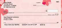 Love Symbols Personal Checks