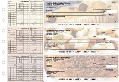 Business Checks Store -  Bakery Payroll Designer Business Checks