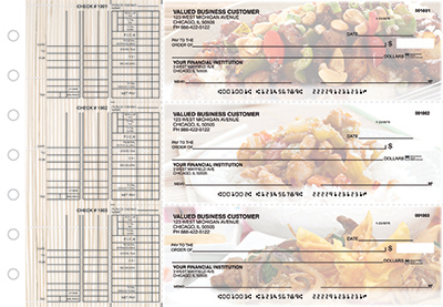 Business Checks Store -  Chinese Cuisine Multi Purpose Designer Business Checks