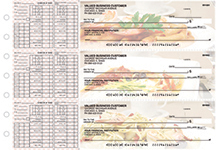 Italian Cuisine Payroll Designer Business Checks