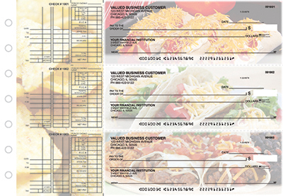 Business Checks Store -  Mexican Cuisine Multi Purpose Designer Business Checks