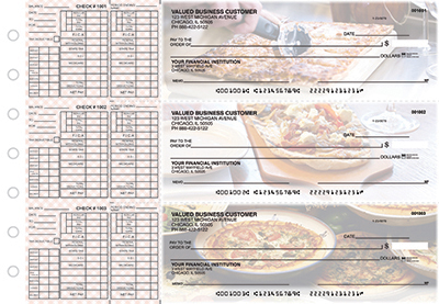 Business Checks Store -  Pizza Payroll Designer Business Checks