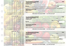 Fresh Produce Multi Purpose Designer Business Checks