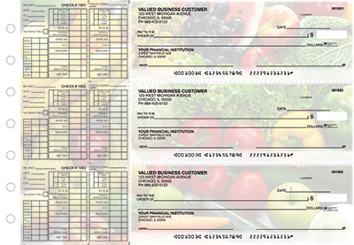 Business Checks Store -  Fresh Produce Payroll Designer Business Checks