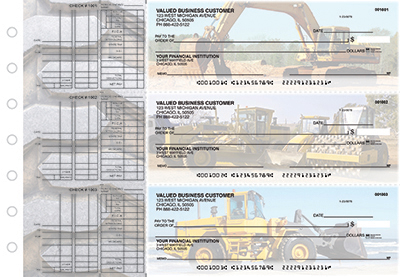 Business Checks Store -  Construction Multi Purpose Designer Business Checks