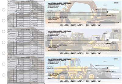 Business Checks Store -  Construction Payroll Designer Business Checks
