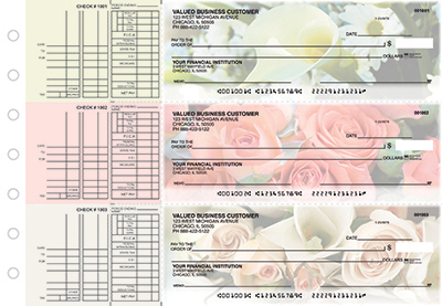 Business Checks Store -  Florist Multi Purpose Designer Business Checks