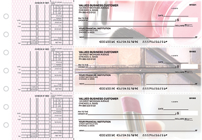 Business Checks Store -  Makeup Multi Purpose Designer Business Checks