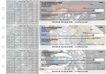 Mechanic Payroll Designer Business Checks
