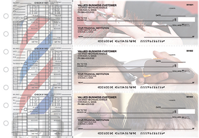 Business Checks Store -  Barber Payroll Designer Business Checks